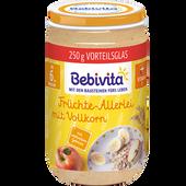 Bild: Bebivita Früchte-Allerlei mit Vollkorn Glas