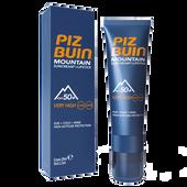 Bild: PIZ BUIN Mountain Combi Cream LSF 50 + Lipstick LSF 20