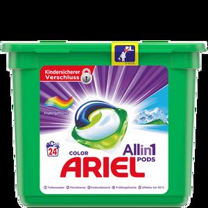 Bild: ARIEL 3in1 Pods Vollwaschmittel Frühlingsfrische