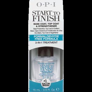 Bild: O.P.I Start To Finish Base & Top Coat (FFF)