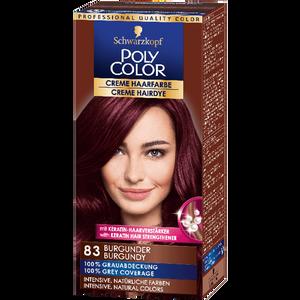 Bild: Schwarzkopf POLY COLOR Creme Haarfarbe burgunder