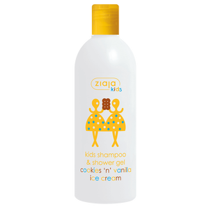 Bild: Ziaja Kids Shampoo & Showergel Cookies 'n' Vanilla ice cream