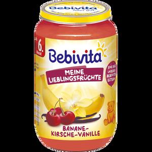 Bild: Bebivita Früchte Banane-Kirsche-Vanille