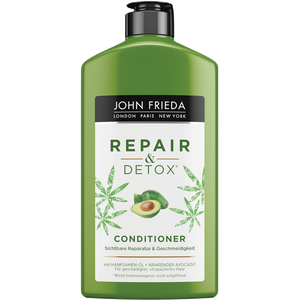 Bild: JOHN FRIEDA Repair & Detox Conditioner Avocado-Öl + Grüner Tee