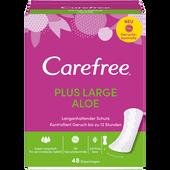 Bild: Carefree Plus large aloe Slipeinlagen