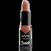 Bild: NYX Professional Make-up Suede Matte Lipstick fetish