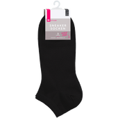 Bild: BI STYLED Sneacker Socken Baumwolle schwarz