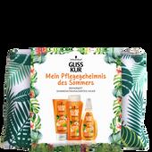 Bild: Schwarzkopf GLISS KUR Summer Repair Set + gratis Kosmetiktasche