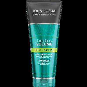 Bild: JOHN FRIEDA Luxurious Volume Inner Power Protein Shampoo