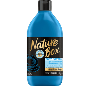 Bild: Nature Box Body Lotion Kokosnuss-Öl