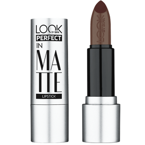 Bild: LOOK BY BIPA Perfect in Matte Lippenstift walnut brownie
