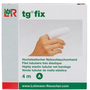 Bild: LOHMANN & RAUSCHER tg® fix Hochelastischer Netzschlauchverband 4 m Gr. A