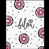 Bild: bilou Pflegeset Tasty Donut mit Waschhandschuh