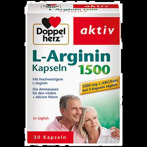 Bild: DOPPELHERZ L-Arginin 500 Kapseln