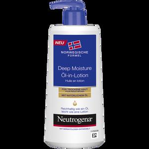 Bild: Neutrogena Deep Moisture Öl-in-Lotion