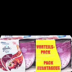 Bild: Glade Duftkerze Apfel & Zimt Vorteilspack