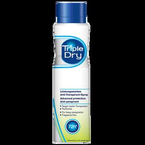 Bild: Triple Dry Deo Spray