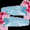 Bild: Parsa Kids Seepferdchen Haarspangen mint-rosa/pink