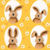 Bild: Paper + Design Servietten Bunnies Flowers