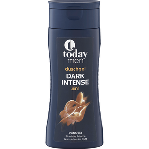Bild: today men Dark Intense Duschgel 3in1