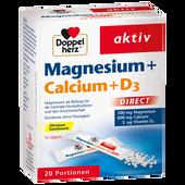 Bild: DOPPELHERZ Magnesium + Calcium + D3
