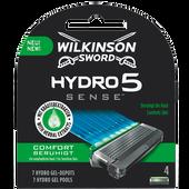 Bild: Wilkinson Hydro 5 Sense Comfort Klingen 4er