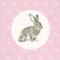 Bild: Paper + Design Servietten Portrait Rabbit