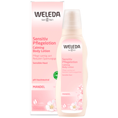 Bild: WELEDA Mandel Sensitiv Pflegelotion