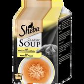 Bild: Sheba Classic Soup mit Hühnchenbrustfilets