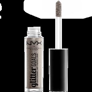 Bild: NYX Professional Make-up Glitter Goals Liquid Eyeshadow oui out