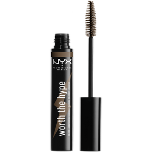 Bild: NYX Professional Make-up Worth the Hype Volumizing & Lengthening Mascara brownish black