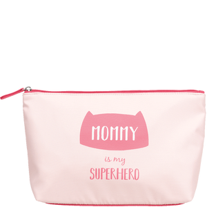 Bild: LOOK BY BIPA Kosmetiktasche 'Mommy is my Superhero'