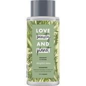 Bild: Love Beauty &  Planet Delightful Detox Shampoo Rosemary & Vetiver