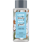 Bild: Love Beauty &  Planet Volume & Bounty Shampoo Coconut Water & Mimosa Flower