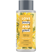 Bild: Love Beauty &  Planet Hope & Repair Shampoo Coconut Oil & Ylang Ylang Flower