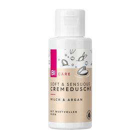 Bild: BI CARE Soft & Sensuous Cremedusche Milch & Argan Mini