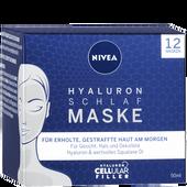 Bild: NIVEA Cellular Filler Hyaluron Schlafmaske