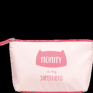Bild: LOOK BY BIPA Kosmetiktasche 'Mommy is my Superhero'