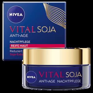 Bild: NIVEA Visage Vital Teint Optimal Soja+ Nachtpflege