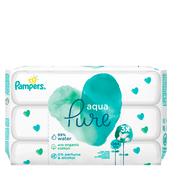 Bild: Pampers Feuchttücher Aqua 3er Pack