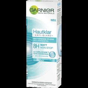 Bild: GARNIER SKIN NATURALS Hautklar Anti-Glanz Mattierende Pflege