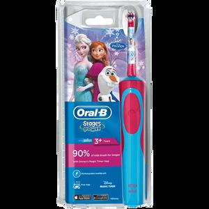 Bild: Oral-B Stages Power Kids Elektrische Zahnbürste Die Eiskönigin