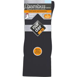 Bild: NUR DER Herren Bambus Komfort Socken anthrazit