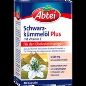 Bild: Abtei Schwarzkümmelöl Plus mit Vitamin E