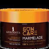 Bild: AFRODITA Cosmetics Suncare Marmelade für schnelle Bräunung