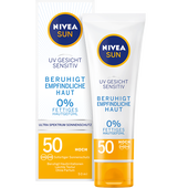 Bild: NIVEA Sun UV Gesicht Sensitive LSF 50 Sonnencreme