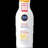 Bild: NIVEA Sun Sensitiv Sofort Schutz Lotion LSF 50+