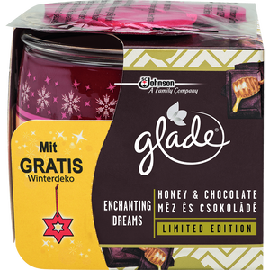 Bild: Glade Duftkerze Honey & Chocolate