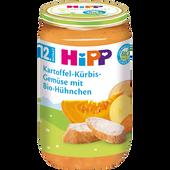 Bild: HiPP Kartoffel-Kürbis-Gemüse mit Bio-Hühnchen