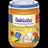 Bild: Bebivita Gemüse und Hühnchen mit Reis